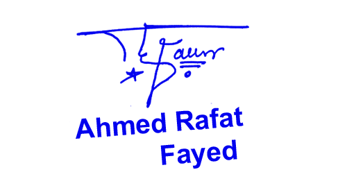 ahmed rafat fayed Online Signature