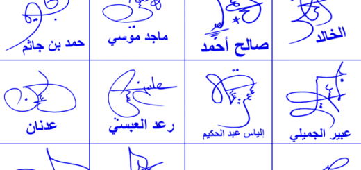 My Name Online Signatures Styles